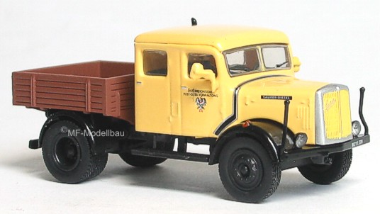 Österreichische Post Saurer LKW Zugmasch.Doppelk Starline HO 1:87-5374  #E