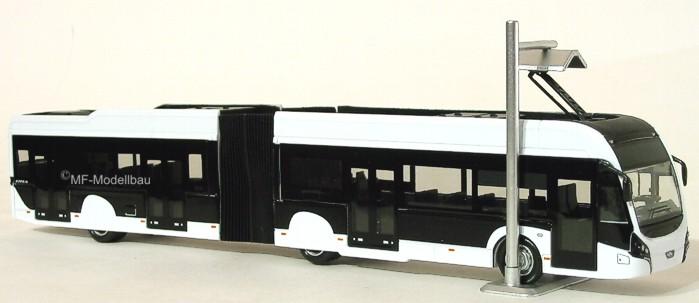 Holland oto Stadtbus VDL Citea LLE neutral wei Modellbau Autos ...