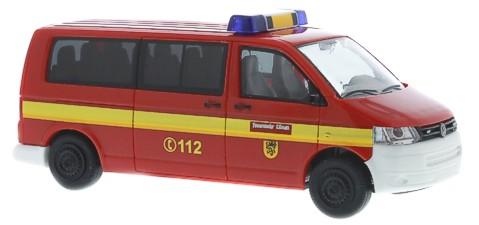 BUB Mercedes //8 1:87 Feuerwehr rot #06172
