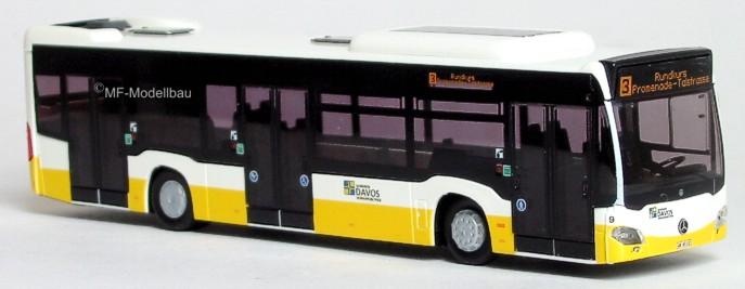 Modelo Rietze 73424 Mercedes-Benz Citaro 2015 Dvg Duisburg Bus