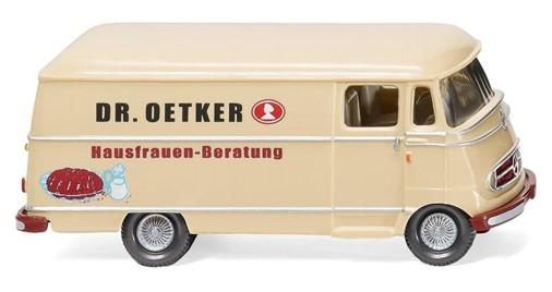 1//87 Wiking MB L 319 Fuchs Bagger Kundendienst Kasten 026503