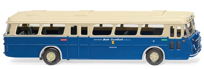 VK-Modelle 10011 Bausatz 1:87 Büssing Präfekt Doppeldecker