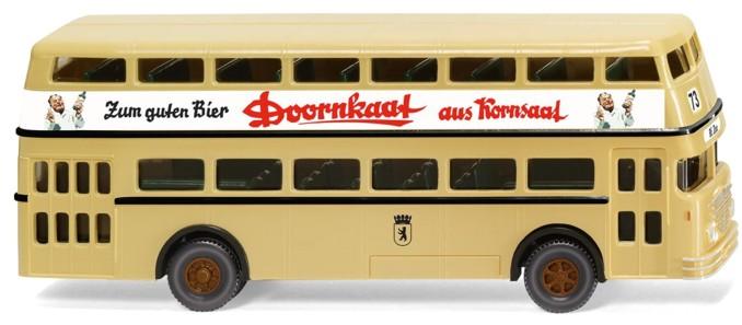 Wiking 1:87 Büssing D 38 Berlin Doppeldeckerbus BVG OVP 873 seit eh und je